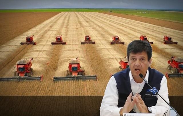 Quem está segurando a economia desse país é o agro, diz ministro da Saúde