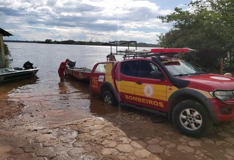 Caminhoneiro desaparece durante travessia em balsa em Tocantins