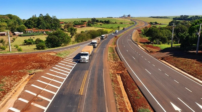 Dnit inaugura mais 8 quilômetros de duplicação na BR-163 Paraná