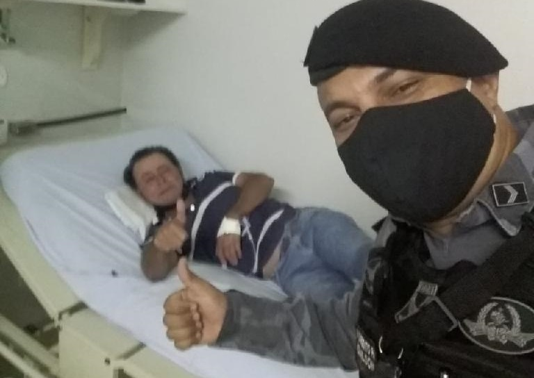 Caminhoneiro sofre AVC e é salvo por policiais militares no MT