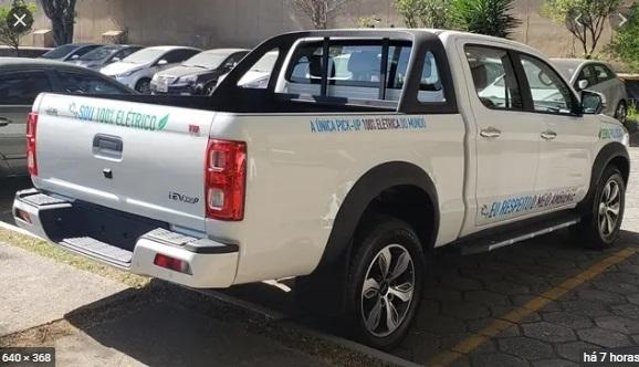 Por R$289.900 você já pode comprar a primeira camionete elétrica da JAC no Brasil