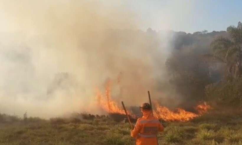 Homem coloca fogo em vegetação, passa mal e morre de infarto em Minas