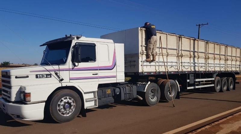 Motorista ganharia um Scania 113h para transportar 209,3 KG de cocaína na BR-163