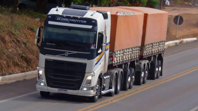 Proprietário oferece recompensa de R$50 mil por localização de carreta roubada na Bahia