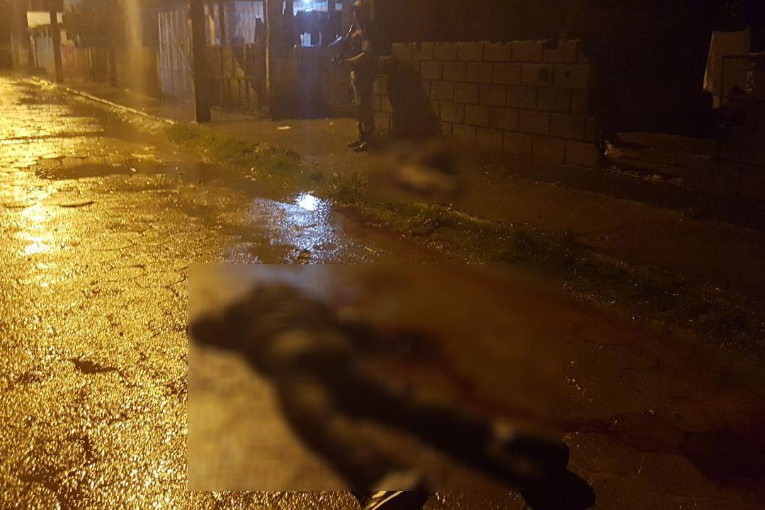 Morador grava som de tiros na Vila União onde cinco pessoas foram mortas
