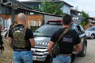 Operação contra facção criminosa percorre comunidades do Norte da Ilha