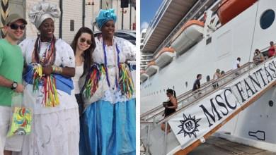 Photo of Quinze mil turistas devem chegar em cruzeiros em Salvador até terça