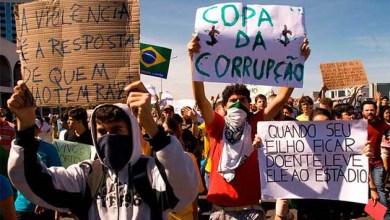 Photo of Brasil: Movimentos fazem ato contra a Copa do Mundo nesta quinta