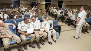 Photo of Comandante-geral se reúne com oficiais de 82 unidades da Polícia Militar