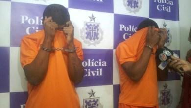 Photo of Polícia apresenta dois dos três envolvidos no assassinato de torcedor do Vitória