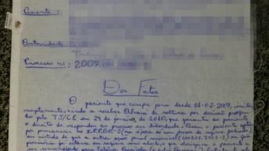 Photo of Brasil: Preso do Ceará usa lençol para escrever habeas corpus ao STJ