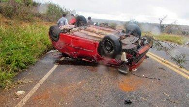 Photo of Grupo de amigos sofre grave acidente ao voltar de festa e dois morrem na BA-026