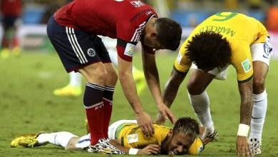Photo of Vídeo: Fifa vai investigar lance da joelhada de Zúñiga contra Neymar