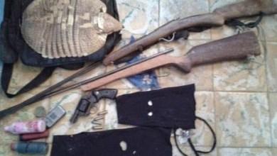 Photo of Bahia: Polícia apreende armas e munição no município de Tanhaçu