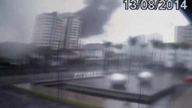 Photo of Vídeo mostra pela primeira vez a queda do avião que matou Eduardo Campos