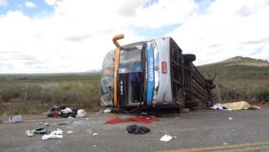 Photo of Chapada: Acidente na estrada que liga Itaberaba a Ipirá deixa dois mortos e vários feridos