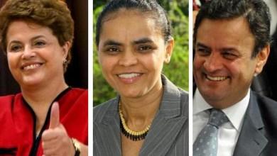 Photo of Dilma tem 36%, Marina, 21%, e Aécio, 20%, diz pesquisa Datafolha