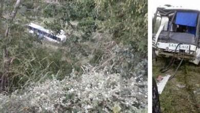 Photo of Chapada: Ônibus cai em ribanceira durante assalto e seis pessoas ficam feridas próximo a Jacobina