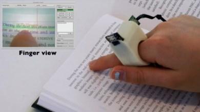 Photo of Anel tecnológico possibilita que cegos leiam livros sem recorrer ao braile