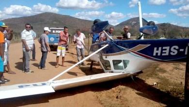 Photo of Chapada: Avião cai no município de Boa Vista do Tupim na tarde desta segunda
