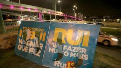 Photo of Destruição de placas é sinal do desespero, diz coordenador da campanha de Rui