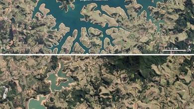 Photo of Nasa publica imagem que mostra efeito da seca no Sistema Cantareira