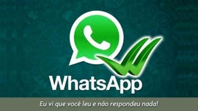 """Photo of Aprenda a driblar os """"riscos azuis"""" do WhatsApp e não informar se você leu ou não as mensagens"""