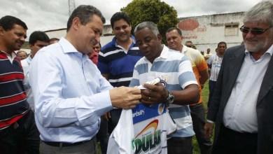 Photo of Chapada: Rui Costa vistoria reforma no estádio municipal de Jacobina