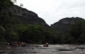Mochileiros na Chapada Diamantina, trilha do Vale do Pati - FOTO Jornal da Chapada