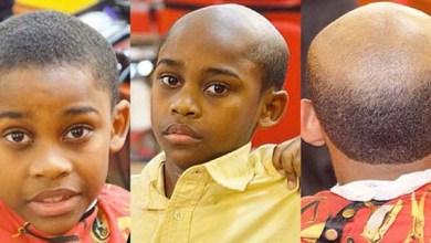 Photo of Mundo: Barbeiro castiga filhos desobedientes com cortes iguais aos de homens velhos e carecas