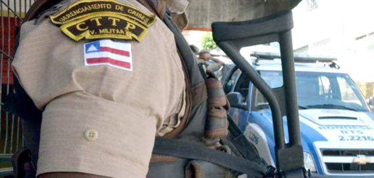 #Bahia: Cabo da PM é presa após tentativa de agressão a comandante do Batalhão
