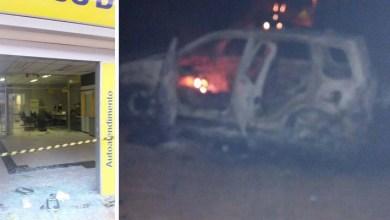 Photo of Chapada: Bandidos explodem agência do Banco do Brasil em Itaetê