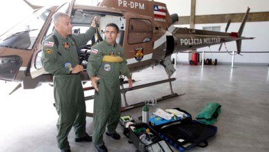 Photo of Grupamento aéreo da PM reforça policiamento nas eleições em todo o Estado
