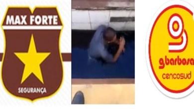 Photo of Vídeo: Funcionários de empresa que presta serviço ao G Barbosa são investigados por agredir morador de rua