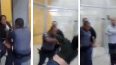 Photo of Vídeo de mulher agredida por policial em banco de São Paulo provoca revolta