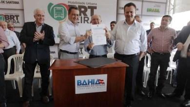 Photo of Governo baiano autoriza o início das obras do BRT em Feira de Santana