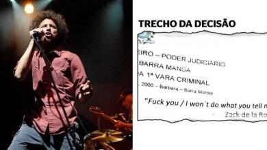 Photo of Brasil: Juiz decide a favor de réu que desacatou PM e cita música de protesto com palavrão