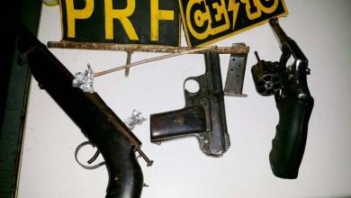 Photo of Policiais apreendem armas na Chapada Diamantina durante ação envolvendo três menores