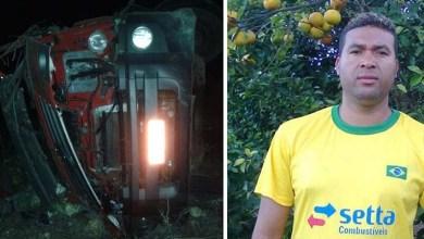 Photo of Chapada: Caminhão carregado de repolho tomba na estrada de Andaraí e motorista morre