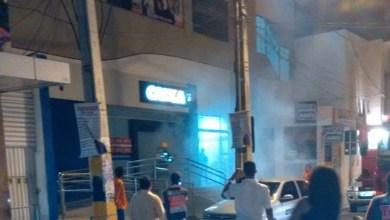 Photo of Chapada: Fumaça em prédio da Caixa Econômica Federal em Itaberaba assusta moradores