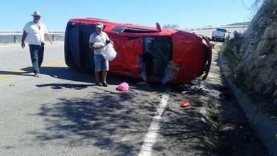Photo of Chapada: Carro capota em estrada em Rio de Contas, mas não deixa feridos com o acidente