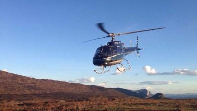 Photo of Mais um helicóptero é enviado pelo governo para combater incêndios na Chapada Diamantina