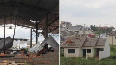 Photo of Vídeo: Mais de 1,5 mil casas são afetadas por tornado no interior do Paraná