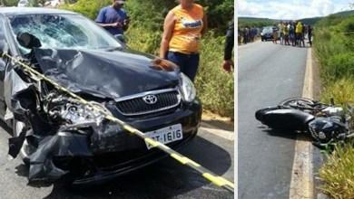Photo of Chapada: Acidente entre automóvel e motocicleta deixa um morto na BA-142