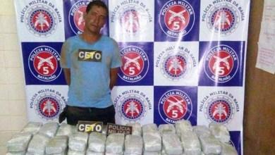 Photo of Bahia: Homem é preso com 100 quilos de maconha em Euclides da Cunha