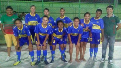 Photo of Futsal feminino do Projeto Camisa 9 participa da Copa de Pintadas