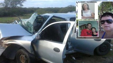Photo of Bahia: Quatro pessoas da mesma família morrem em acidente no norte do estado