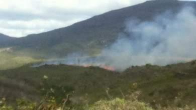 Photo of Chapada: Fogo atinge Gerais do Rio Preto na região do Parque Nacional
