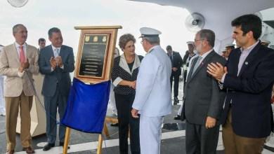"""Photo of Com a presença de Dilma, Marinha brasileira batiza novo navio de """"Bahia"""""""