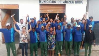 Photo of Chapada: Coletores de resíduos do município de Várzea Nova terminam greve